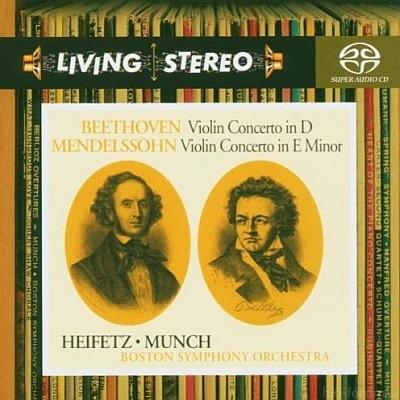 Jascha Heifetz - Beethoven_Mendelssohn 2004 SACD