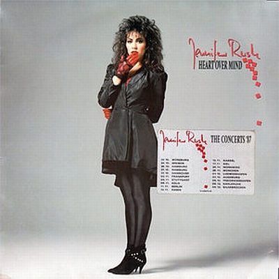 Jennifer Rush - Heart Over Mind 1987