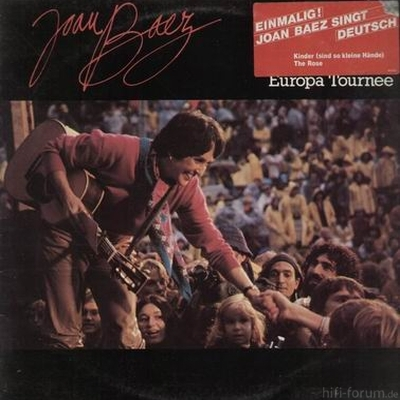 Joan Baez - Europa Tournee 1980