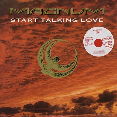 Magnum - Start Talking Love Maxi 1988