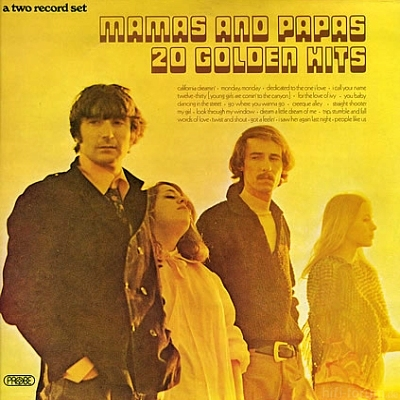 Mamas And Papas - 20 Golden Hits 1973