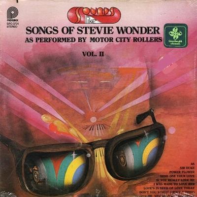 Motor City Rollers - Sound Like Songs Of Stevie Wonder II 1980