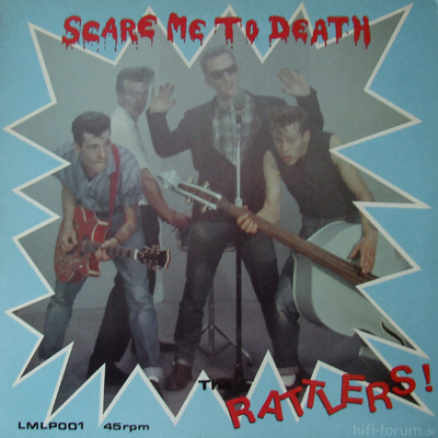 Rattlers - Scare Me To Death 1984