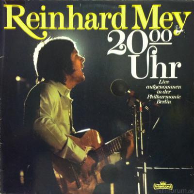 Reinhard Mey - 20 Uhr 1974