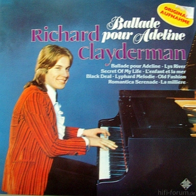 Richard Clayderman - Ballade Pour Adeline 1977