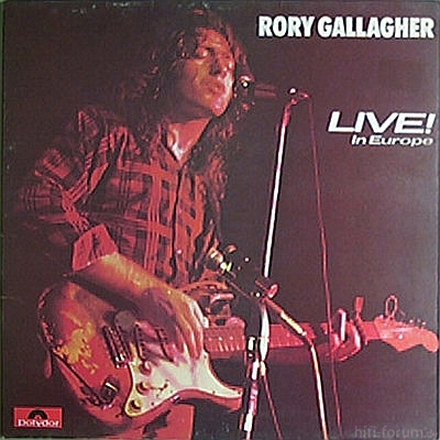 Rory Gallagher - Live! In Europe 1972