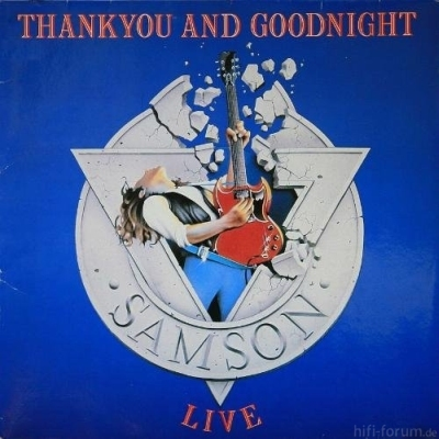 Samson - Thank You And Good Night 1985