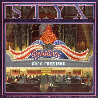 Styx - Paradise Theatre 1980