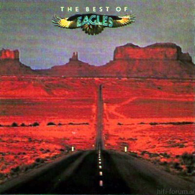 The Eagles - The Best Of The Eagles Amiga 1989