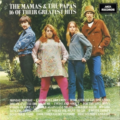 The Mamas & The Papas - 16 Of Their Greatest Hits 1970