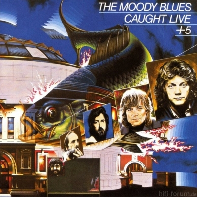 The Moody Blues - Caught Live +5 1977