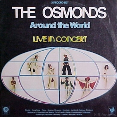 The Osmonds - Around the World 1975