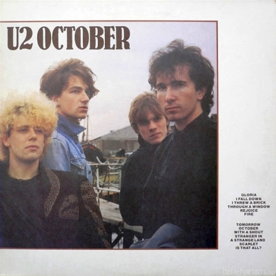U2 - October 1981