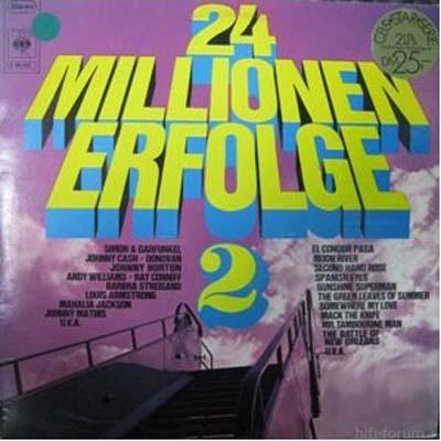 Various - 24 Millionen Erfolge 2 1971