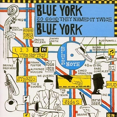 Various Artists - Blue York Blue York 1996