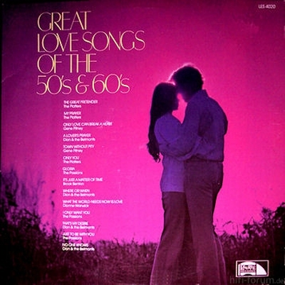 Various - Great Love Songs Of The 50's & 60's
