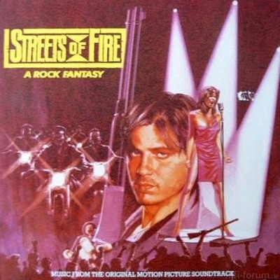 Various - Streets Of Fire - A Rock Fantasy 1984