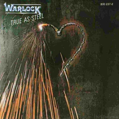 Warlock - True As Steel 1985