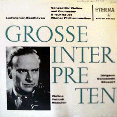 Yehudi Menuhin - Ludwig Van Beethoven 1968 Eterna