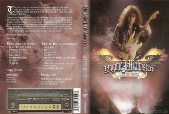 Yngwie Malmsteen - Far Beyond The Sun DVD 2006