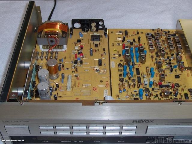 Revox FM Tuner B160 Von Innen