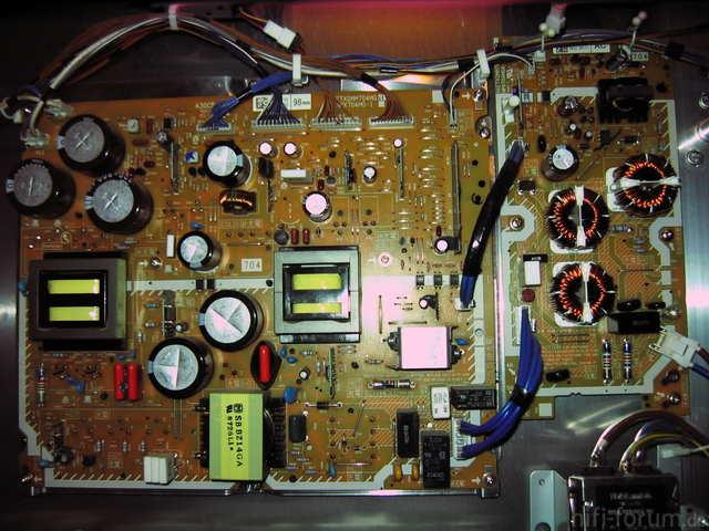 Panasonic G11 Plasma - Netzteil