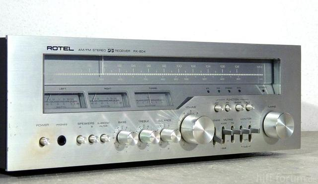 RotelRX604 12k