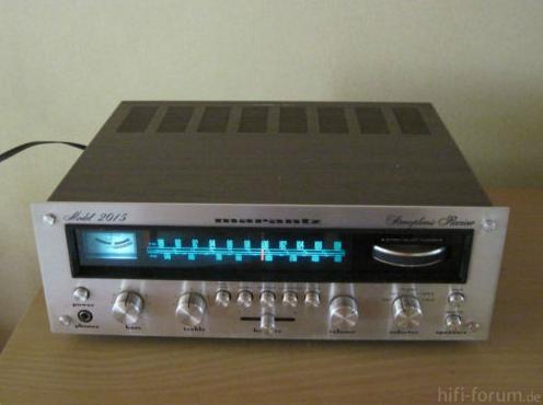 Marantz-Stereo-Receiver Model 2015 guterhaltener Klassi..2