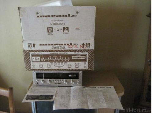 Marantz Stereo Receiver Model 2015 Guterhaltener Klassi