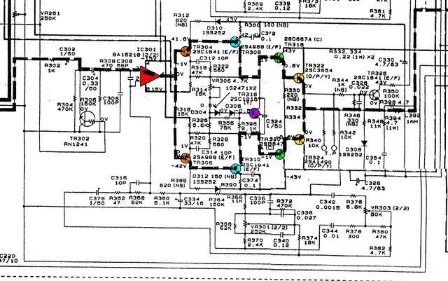 Denon DRA 365 Schematic