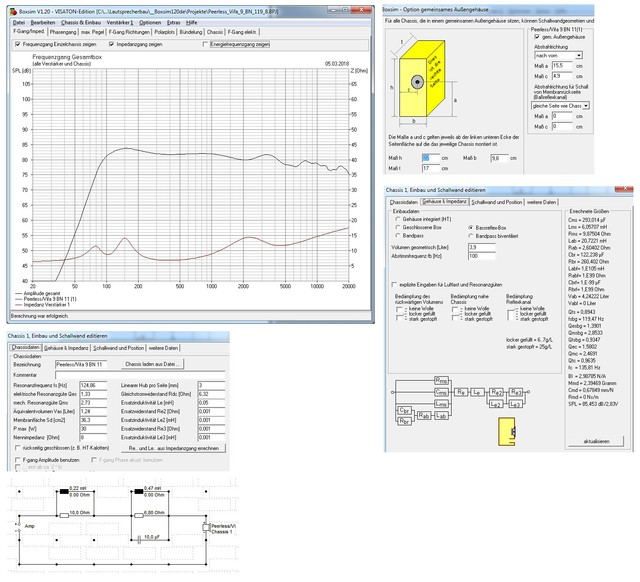 StartAirKit PC Box Mit Peerless/Vifa 9 BN 119/8