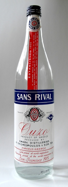 Ouzo Sans Rival Bottle
