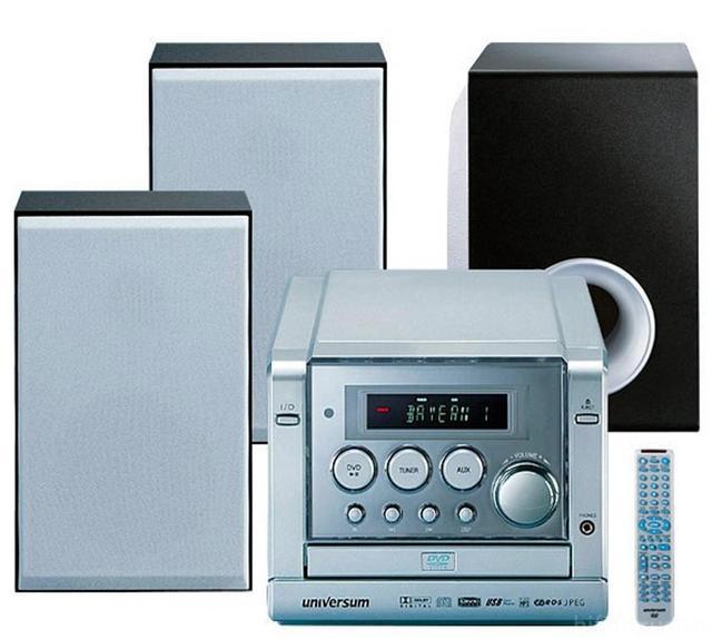 Universum Microanlage DVD-DR 1053 A