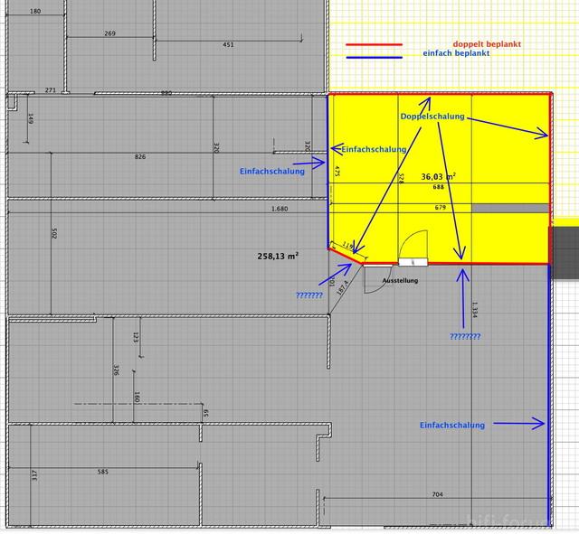 Raumplan Für Trockenbau2