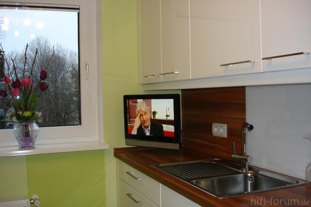 Tv In Der Küche,auch Gut.....