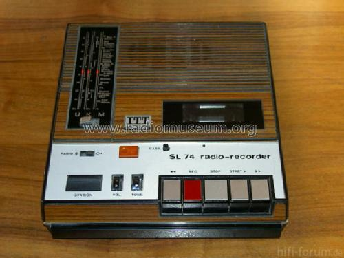 Radio Recorder Sl74 18 Trans 561711