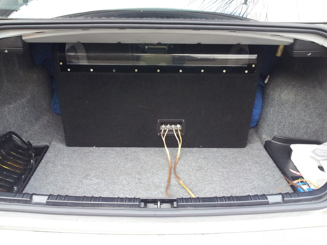 2 subwoofer in jaguar stealth dual bassreflexbox einbauen. Black Bedroom Furniture Sets. Home Design Ideas