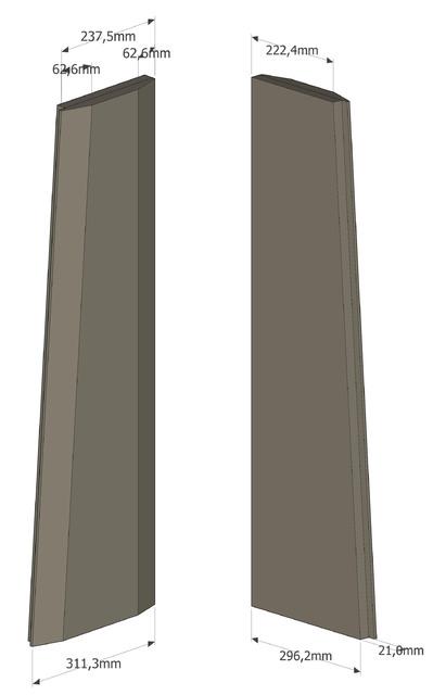 3D Seitenteil rechts