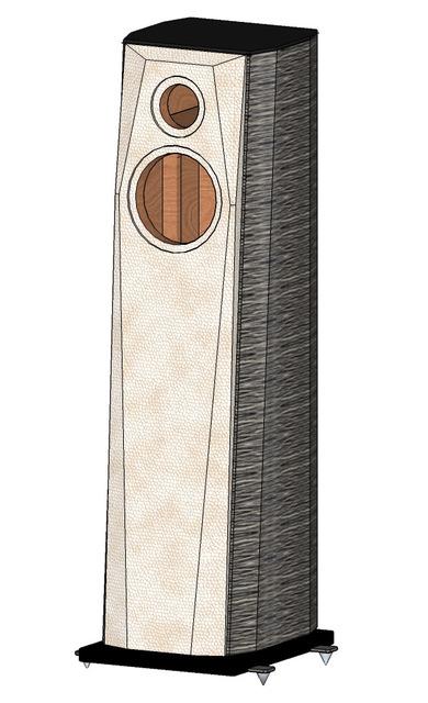 3D Zeichnung der Campanile