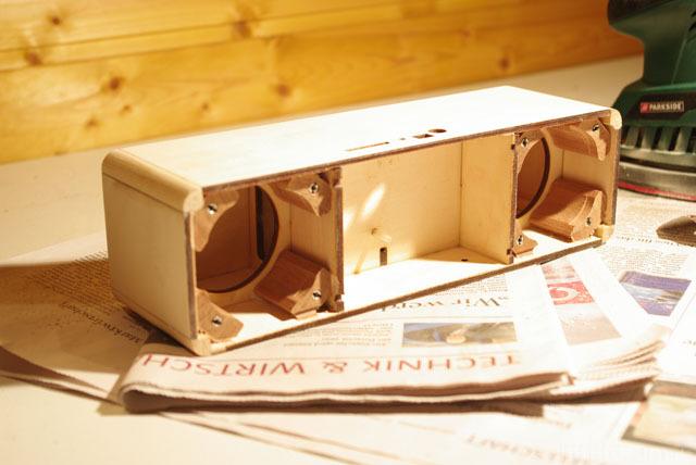 Mobile Audioplayer Rohgehäuse, Geschlossen, Bereits Abgeschliffen