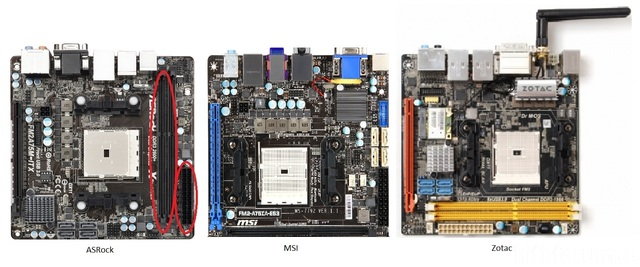 FM2A75M-ITX