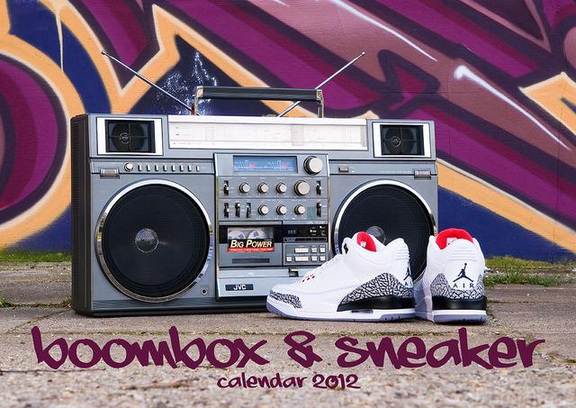 Boombox & Sneaker Calendar 2012