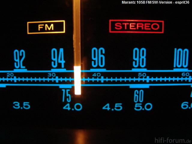Frequenzband Marantz 105B - Kurzwellen-Version -