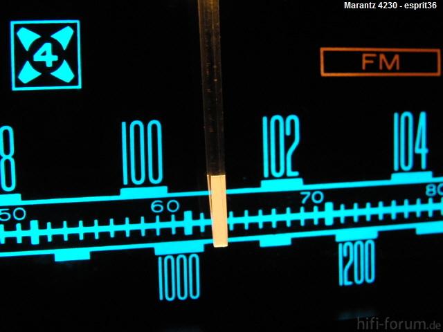 Frequenzband Marantz 4230