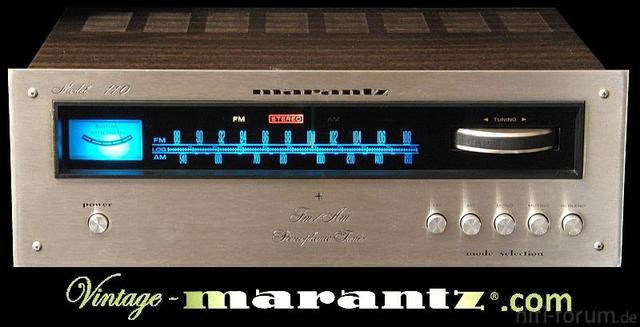 Marantz 110 Face Engraved