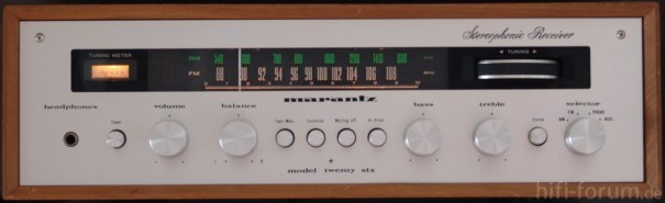 "Marantz 22 ""Twenty Six"""
