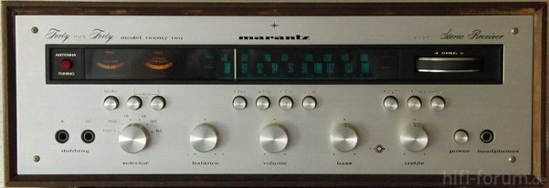"Marantz 22 ""Twenty Two"""