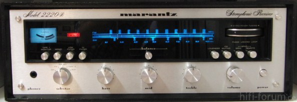 Marantz 2220B, Allerdings In Der Ultraseltenen Kurzwellen-Version