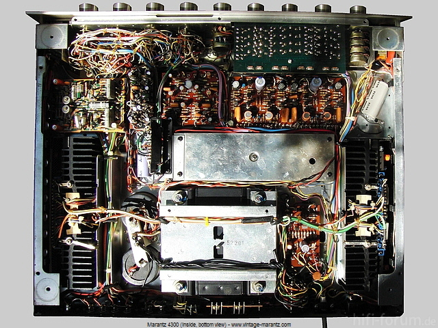 Marantz 4300 Inside Bottom View