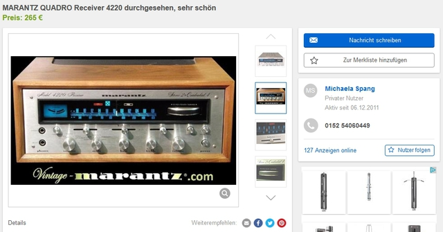 Marantz Copyright 4220